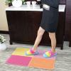 供应单色丝圈进门地垫地毯门垫浴室防滑垫子入户门厅拼接脚垫