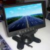 供应7寸液晶显示器 7寸车载显示器 7寸遮阳显示器 双视频 2路视频 9-35V宽电
