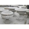 供应厂家直销石雕艺术花钵 石雕花缸 石材花盆