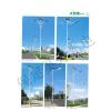 供应LED太阳能路灯6米8米9米10米12米道路路灯生产厂家单臂双臂路灯杆