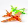 供应儿童玩具 360度魔术回旋飞机 多彩创意泡沫地摊玩具 F04-012