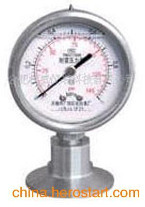 供应杜威Y-MC系列卫生型隔膜压力表