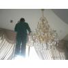供应长沙专业水晶灯清洗吊灯清洗选择长沙保洁王