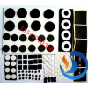 供应深圳彩色EVA胶垫,防滑EVA彩色硅胶垫,网格纹EVA胶垫成型