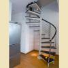 供应脊索钢木楼梯的安装位置和细节尺寸