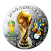 供应2014年巴西FIFA世界杯纪念银章