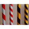 供应黄黑反光膜、红白反光膜、斜纹反光膜、黄黑斜纹反光膜、红白直纹反光膜