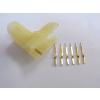 供应专业定做加工各种材料规格的冲压件-插脚片1