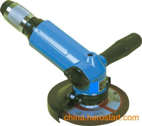 供应SJ110°125 气动角磨机,SJ110°125角式气动砂轮机,SJ110°125角式气动打磨机
