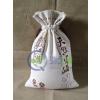 供应厂家定做纯棉绣花布袋大米杂粮布袋包装广告礼品袋环保袋定制