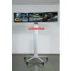 供应三屏拼接移动支架推车 多屏LCD显示器拼接移动支架柜