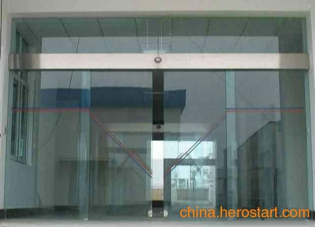 供应宁波玻璃感应门,玻璃平移门,玻璃自动门
