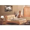 供应实木酒店家具定做,LYHMY-JDJJ005酒店实木床生产厂家