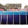 供应郑州大风车支架水池 支架水池每平方价格 趣味产品