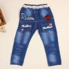 供应韩版童装 儿童牛仔裤 中小童高品质低价批发男童童裤