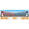 供应云南不锈钢伸缩门、昆明电动伸缩门价格、伸缩门厂家