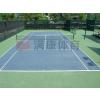 供应硅PU网球场地  满康体育专业施工公司