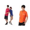 供应中国联通4G工作服手机店营业员 沃工衣店员工装定制夏装短袖T恤