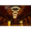 供应中山酒店大堂创意风格艺术工程仿羊皮中式吊灯