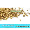 供应抽粒珠光粉 色母粒厂家用金色珠光粉