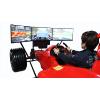 供应4D系列汽车驾驶模拟器 三屏真实动感F1赛车模拟器