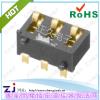 供应手机电池座立式ZJ-3P-2.5PH-4.5H外焊带斜柱
