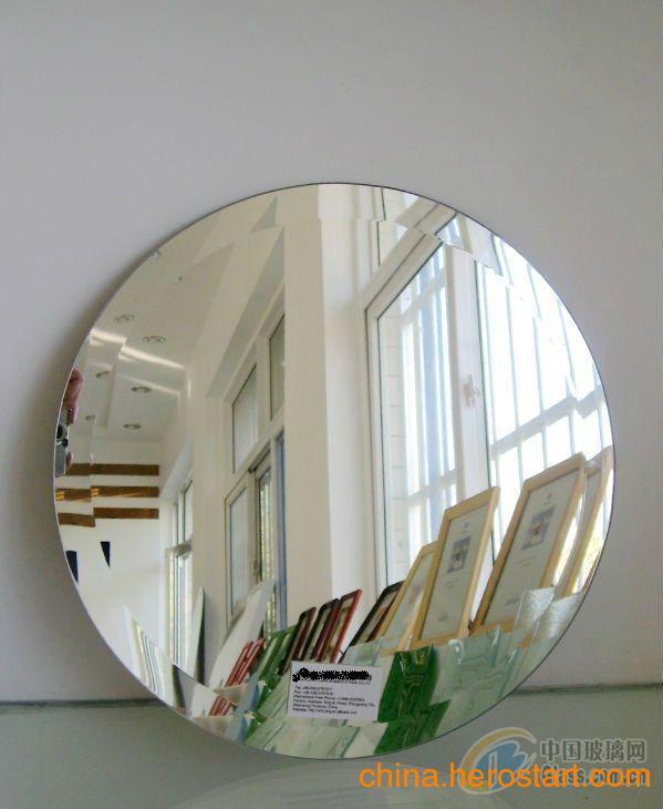 供应异形斜边优质玻璃镜子