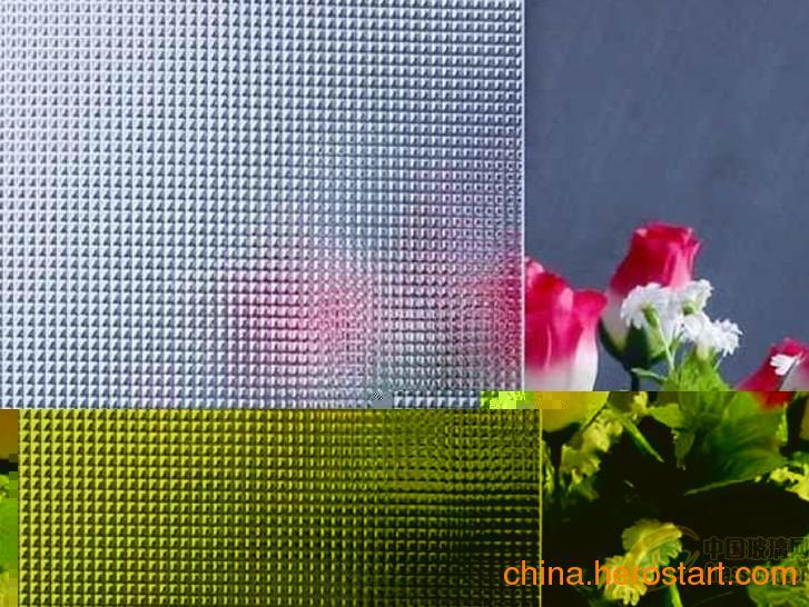 供应5MM优质压花玻璃