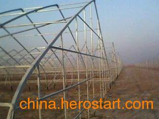 供应顺义蔬菜大棚建设安装在延庆温室大棚骨架厂家
