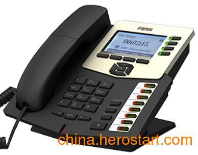 供应深圳专业IP融合通信,C62四账号企业级IP网络电话机