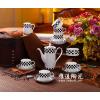 供应英式咖啡具 套装骨瓷咖啡具 景德镇陶瓷咖啡具
