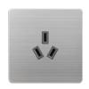 供应16A墙壁开关三极插座跷板式双控暗插座酒店冰箱开关插座直销