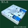 供应2口86型光纤桌面盒