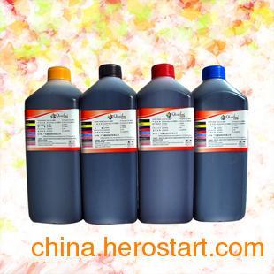 供应弱溶剂墨水 爱普生R270 1390 1400打印机弱溶剂墨水 平板打印机万能墨水