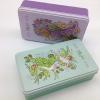 供应化妆品铁盒包装厂家定制加工长方柯式四色彩印马口铁礼品盒