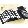 供应博锐61键青海老人娱乐休闲便携式可折叠手卷钢琴批发