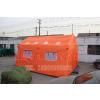 供应桔红色野外医疗救援充气帐篷 搭建快回收迅捷 抗风性强 PVC折叠充气帐篷