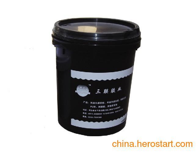 供应冀安三联单组份水性聚氨酯滤芯专用胶粘剂
