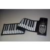 供应博锐61键武汉学生学习专业版大品牌可折叠硅胶手卷钢琴批发
