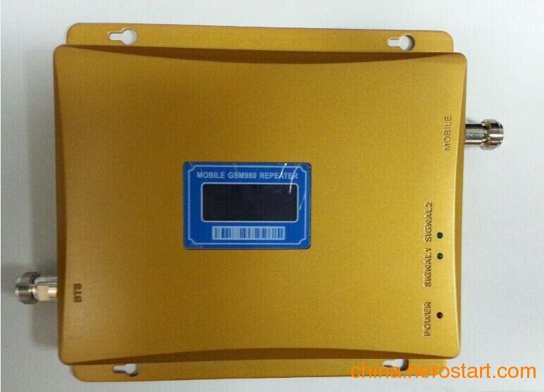 供应手机信号放大器金黄色GSM950 GSM980 GSM990