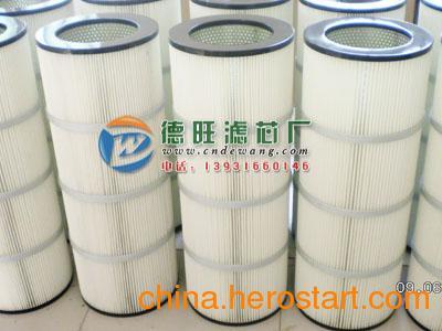 聚酯纤维折叠状扫地车滤芯现货供应