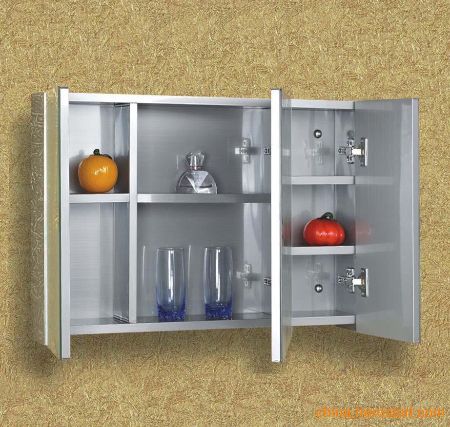 供应不锈钢厨柜镜柜