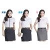 供应日好缘厂家直销优质工装职业套裙 夏季女职业装 价格低
