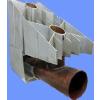 供应壁挂炉专用铜铝复合散热器