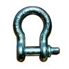 供应厂家直销弓型模锻卸扣 G209卸扣国标 规格可定做,镀锌卸扣(7/8)
