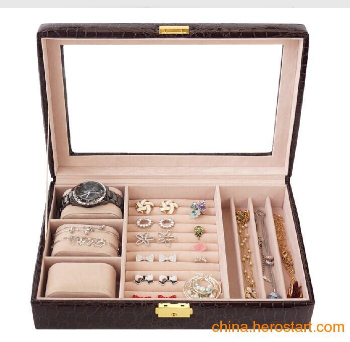厂家供应手表盒 项链收纳盒 饰品包装盒批发