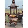 供应狮头三高脚铜香炉-寺庙香炉,寺庙铜香炉,寺庙铁香炉,佛教纪念品