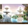 供应石喷泉雕刻/庭院石喷泉/大理石喷泉