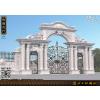 供应石雕大门围墙/别墅石雕大门/欧式石材大门