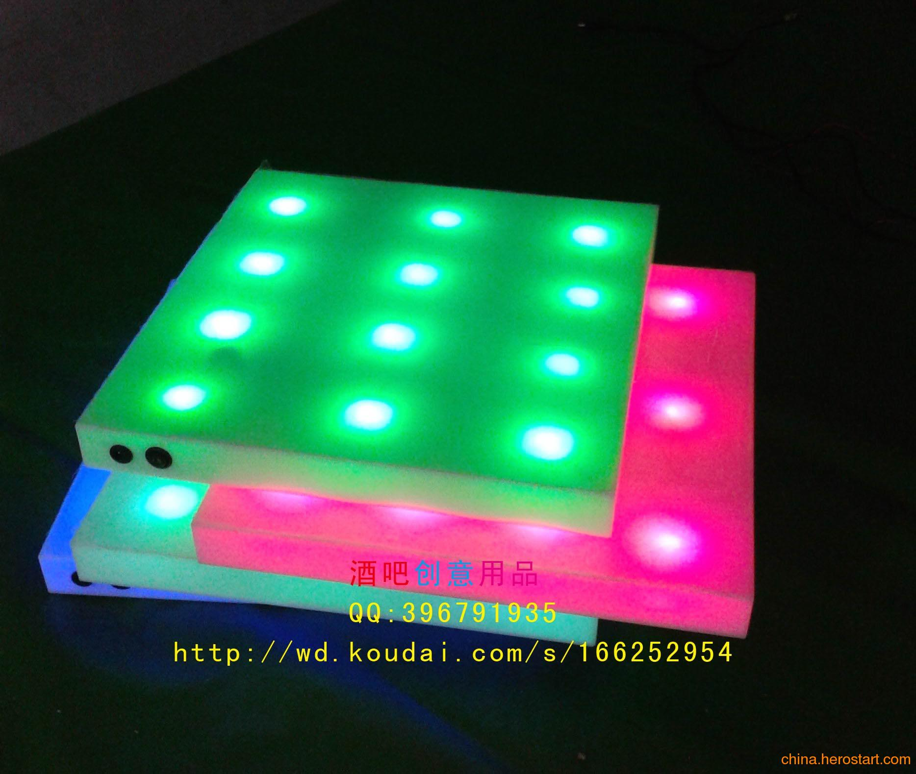 供应发光托盘,发光酒塔,亚克力发光底盘,LED充电发光托盘,酒吧用品
